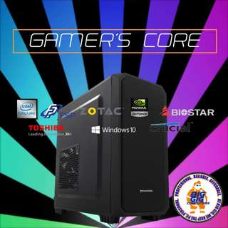 GTX 1060 I5 Gamer's Core Stealth 6 Gaming Rig