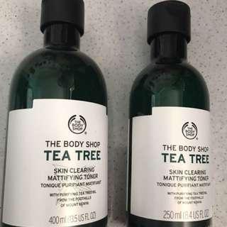 BN Body Shop Tea Tree Toner