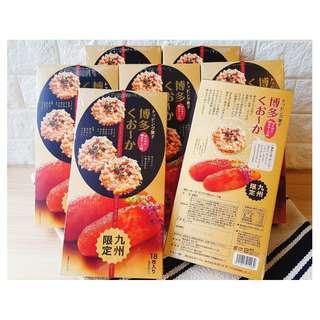 🚚 «Kimi Shop» 日本➜預購 博多明太子芝士味燒菓子