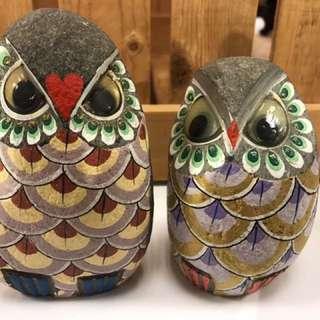 🚚 石頭雕-貓頭鷹