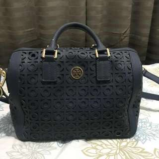 Authentic Tory Burch Kelsey Middy Satchel Bag