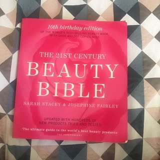 Beauty bible book