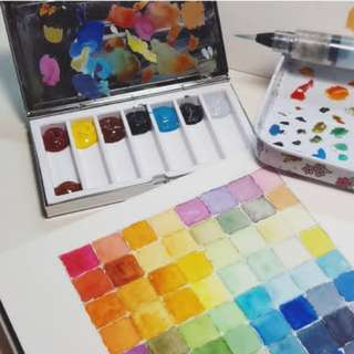 CHEAP Mini Watercolour Palette + FREE GIFT