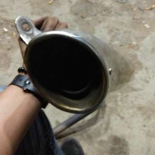 exhaust replica cobra full system xray 200