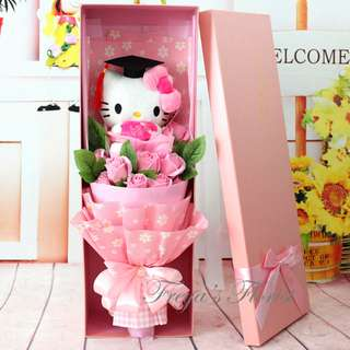 22 You Are My Princess Eternal Flower Bouquet Hello Kitty Flowers Design Valentines Day Birthday Gift Idea
