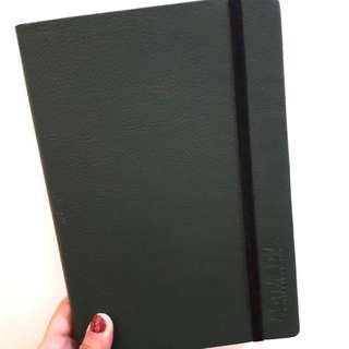 (Repriced) Notebook with 2018 Calendar Pages