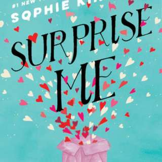 Pre order-Surprise Me Novel by Sophie Kinsella