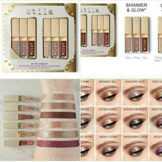 Stilla eyeshadow ( shimmer and glow )