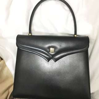 Givenchy 中古vintage handbag 90%新 Ferragamo Celine Hermes style