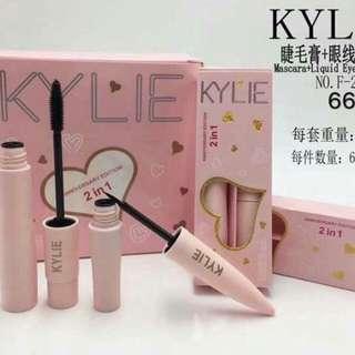 KYLIE 2 IN 1 mascara and liquid eyeliner