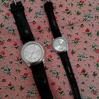 Authentic GUESS couple watch( Reduce)