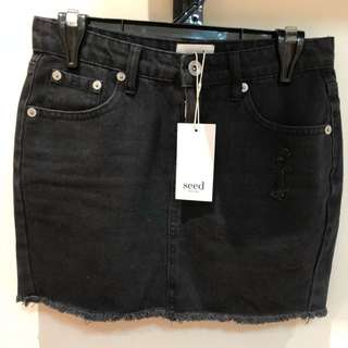 SEED HERITAGE DENIM SKIRT SZ 6