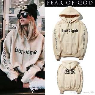 Instock Fear Of God hoodie