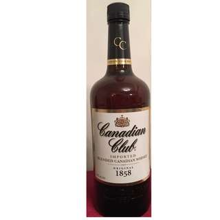 Canadian Club Whisky 1L 無盒