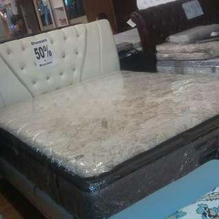 Spring bed uk 160 × 200 pake per