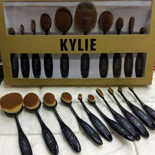 KYLIE PADDLE BRUSH SET