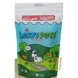 Beef Jerky / Snack Hewan / Makanan Anjing / LerysPets