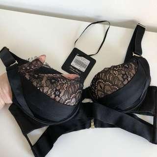 Honey birdette sexy black laces bra 12B/34B