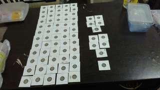 1997 5sen total 71pcs .some r consider error coin.