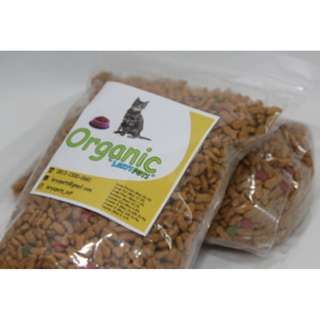 Makanan Kucing Organic by Leryspets (500g)
