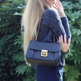 Chloe Elsie blue shoulder bag