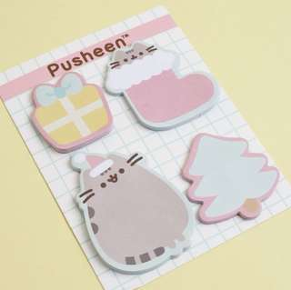 Pusheen Holiday Sticky Note