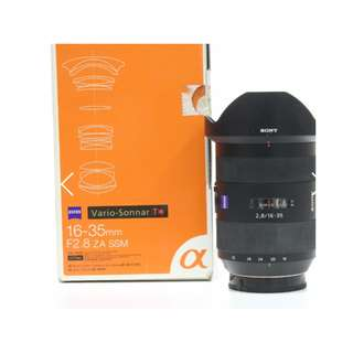 Sony Zeiss Vario Sonnar T* 16-35mm f2.8 ZA SSM Lens (Sony A-mount)