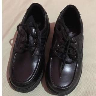 GIBI black school shoes. Used only once. Good as new.
