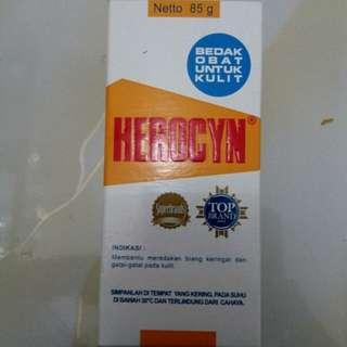 Bedak obat kulit Herocyn