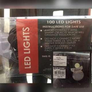 100 LED XMAS LIGHTS (STEADY)