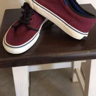 Vans maroon/black/navy 106 vulcanised
