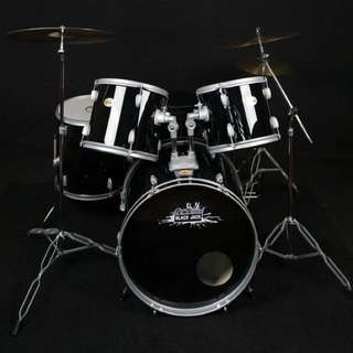 Dr. Drum Drum Set (black jack)
