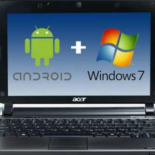 android + windows / laptop + mobile