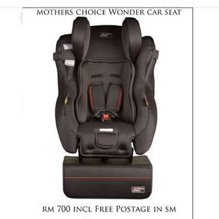 Mother's Choice Wonder Car Seat