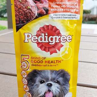PEDIGREE Simmered Beef Loaf Dog Food Pouch