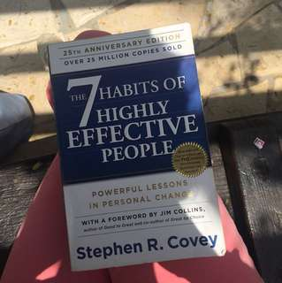 7 Havits of Highly Effective People - Stephen R Covey