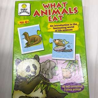 animals food cards games