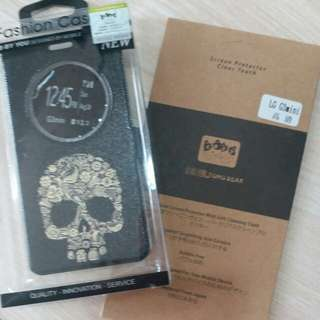 G3mini掀蓋套(with cover)+保護貼(screen protector)