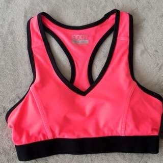 BRAND NEW SPORTS CROP TOP XS PINK