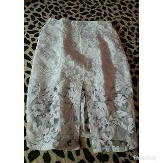 Skirt brocade