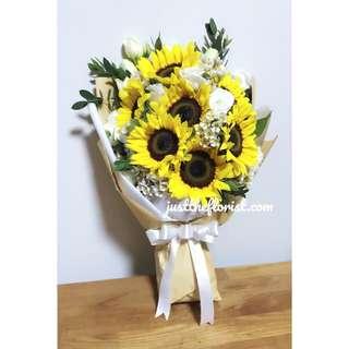 Valentine's Day Sunflower