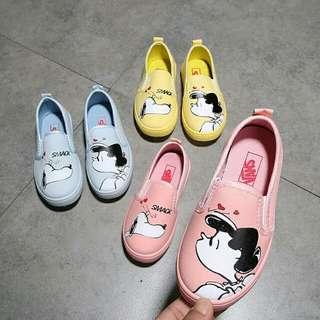 女童奶奶圖案鞋