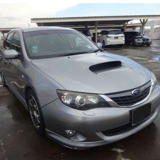 Wrx 2.5m turbo for monthly rent