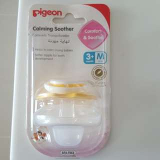 Pigeon Pacifier 3+M