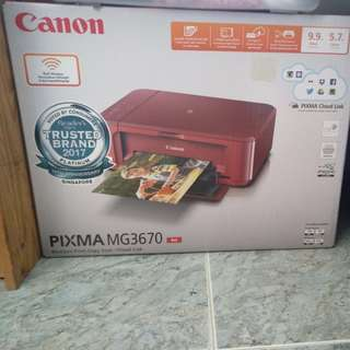 Canon Pixma MG3670 Red