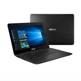 kredit laptop Asus X555BA win 10 ori Gen A9