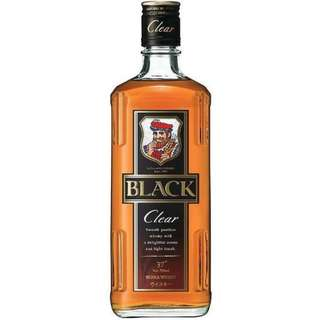 BLACK NIKKA CLEAR