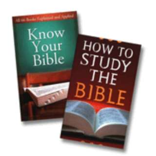 Free! How to Study the Bible by Robert M West