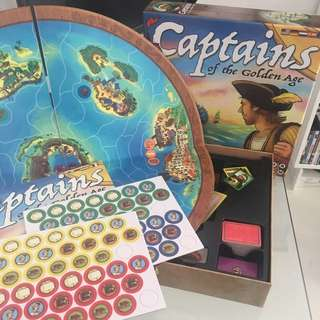 Board Game (Captain of the golden age)