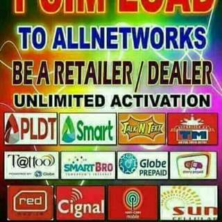 1 SIM CAN LOAD ALL NETWORK FOR ONLY 200 PESOS ACTIVATION FEE !